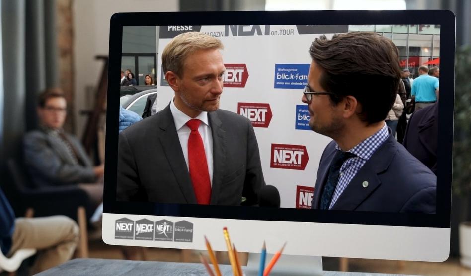 Interview Christian Lindner Bundesvorsitzender FDP