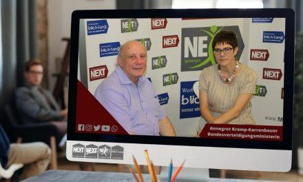 Interview Annegret Kramp-Karrenbauer Bundesverteidigungsministerin