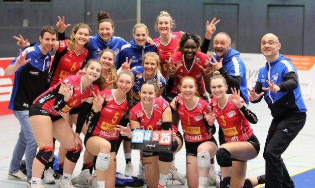 EILMELDUNG – Neuwieder Volleyballerinnen steigen in die Elite-Liga auf