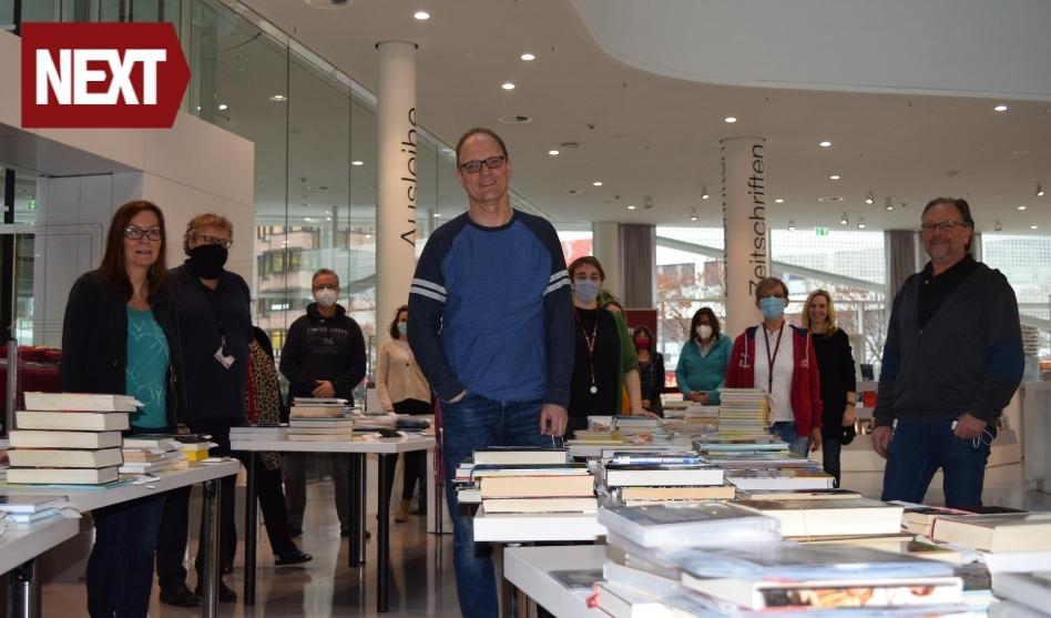 Team der Stadtbibliothek Koblenz – 02/2021