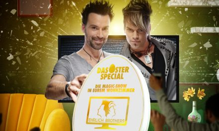 Die Ehrlich Brothers kehren Ostern mit neuer Streamingshow zurück in Deutschlands Wohnzimmer!