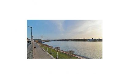 Neue Uferpromenade lädt zum Flanieren ein