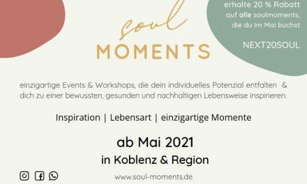 soulmoments – heute gibt es was zu feiern!
