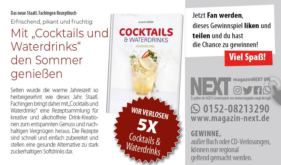 Verlosung Das neue Staatl. Fachingen Rezeptbuch