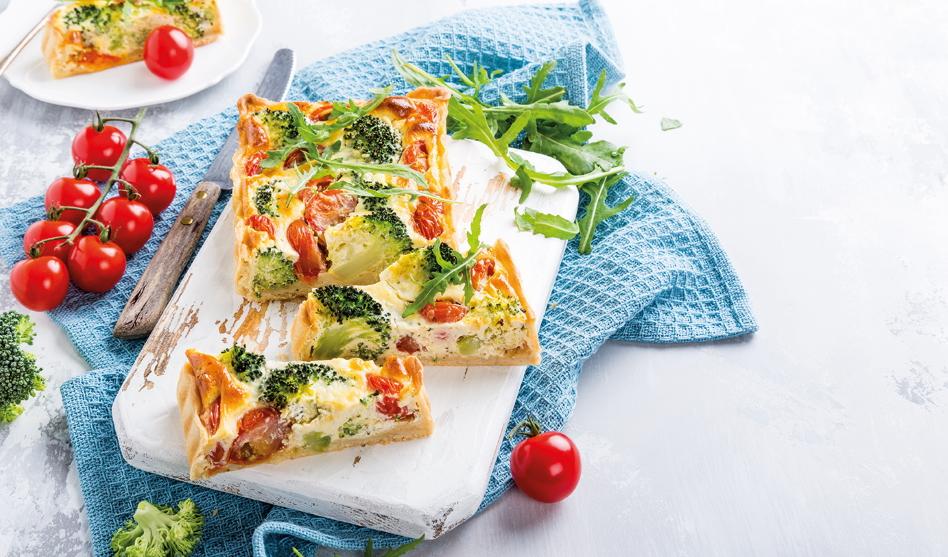 Rezept Bunte Gemüsequiche – einfach lecker!