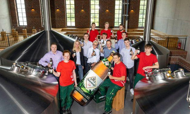Ausbildung in der Westerwald-Brauerei