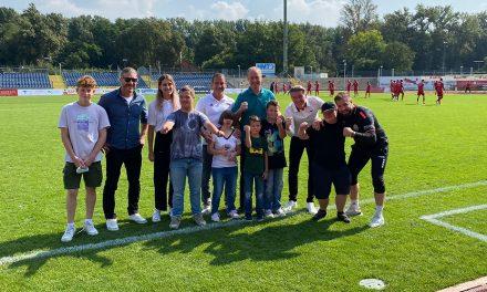 """""""DU bist WIR"""" und FC Rot-Weiss Koblenz boten tollen Fußball-Nachmittag!"""